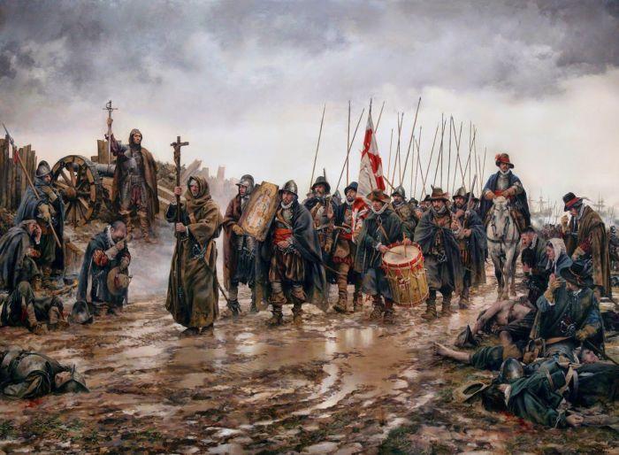 Испанские солдаты. |Фото: pinterest.fr.