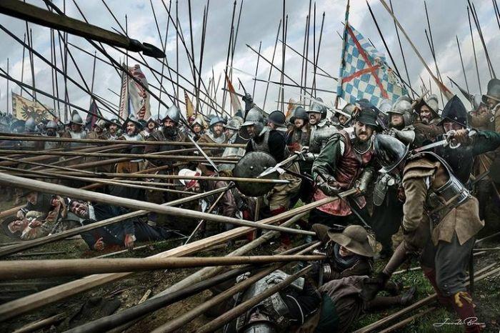 Пикинеры были основой пехоты начала Нового времени. |Фото: yandex.ru.