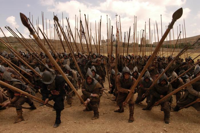 Длина пики составляла 5-6 метров для защиты от натиска кавалерии. Сами пикинеры облачались в стальные нагрудники от пуль и шлемы от ударов кавалеристов. |Фото: howtopublishinjournals.com.