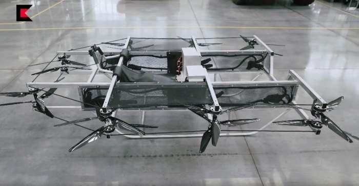 Новейший летающий мотоцикл от Калашникова.