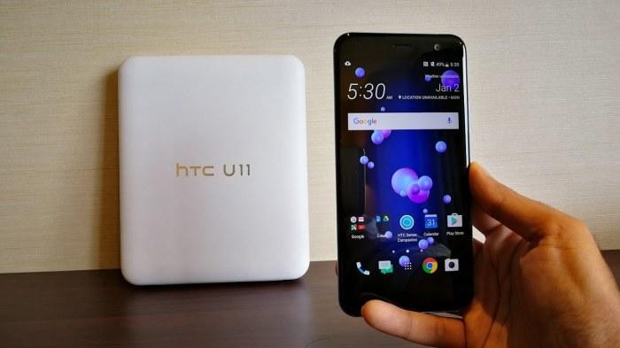 HTC U11 один из фаваритов рынка.