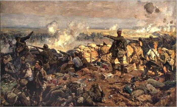 Первая мировая война навсегда изменила отношение к камуфляжу. |Фото: shkolageo.ru.