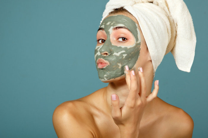 Не смывайте маску полностью.