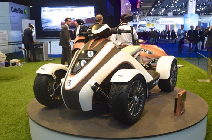 Квадроцикл Artega - выгодная альтернатива автомобилю.