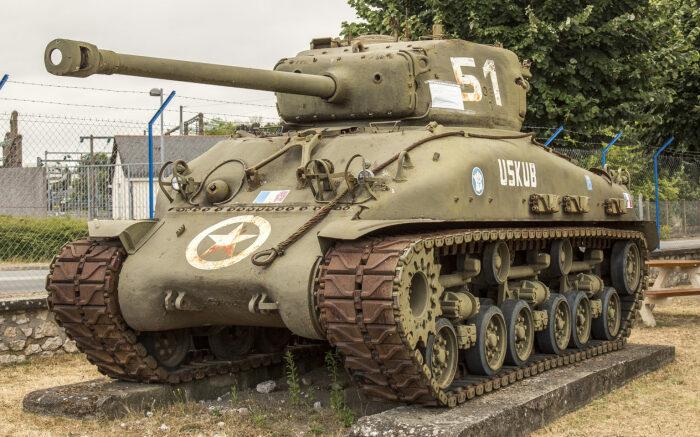 Американские танки похожи на немецкие. |Фото: aviarmor.net.