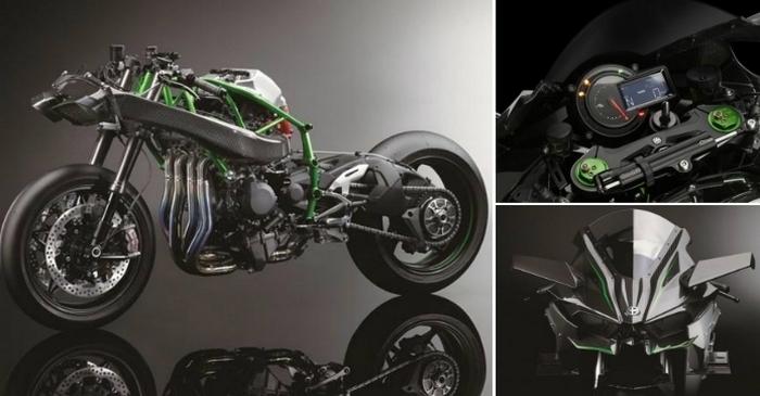 Kawasaki Ninja – самый мощный трековый байк