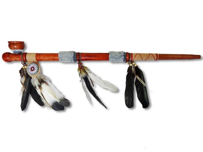 Индейская трубка.  Фото: afrostore.biz.