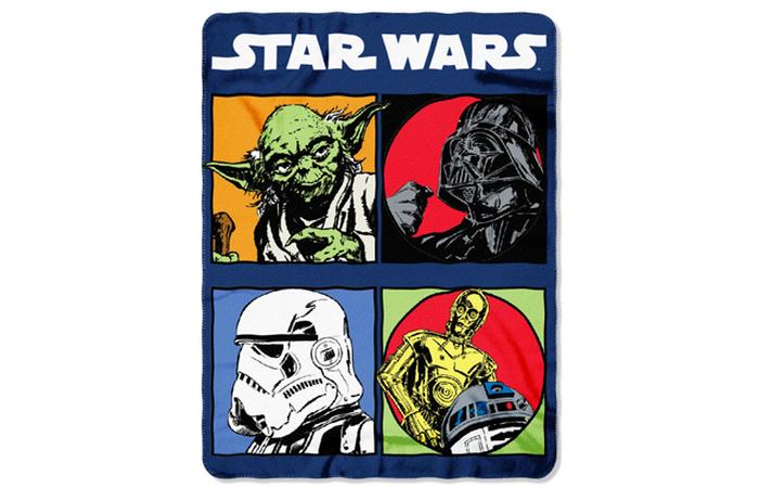 Одеяло Звездные войны.