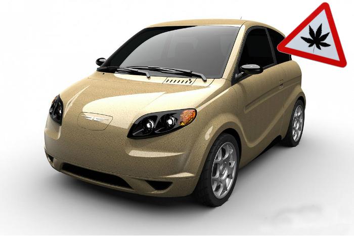 Kestrel - первый в мире автомобиль из конопли.