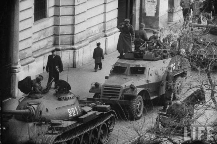 Подавление Венгерского восстания на счету КГБ.
