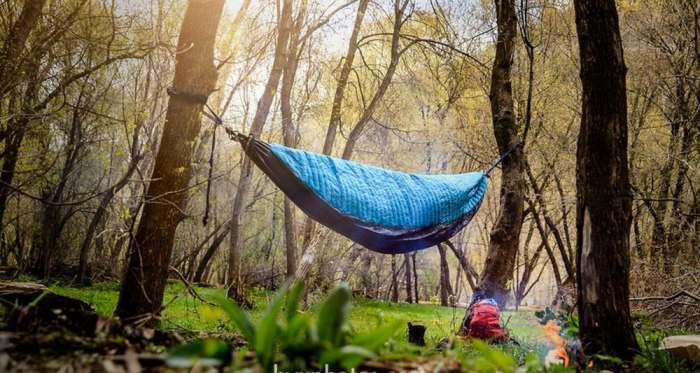 Гамак, который лучше любой палатки.
