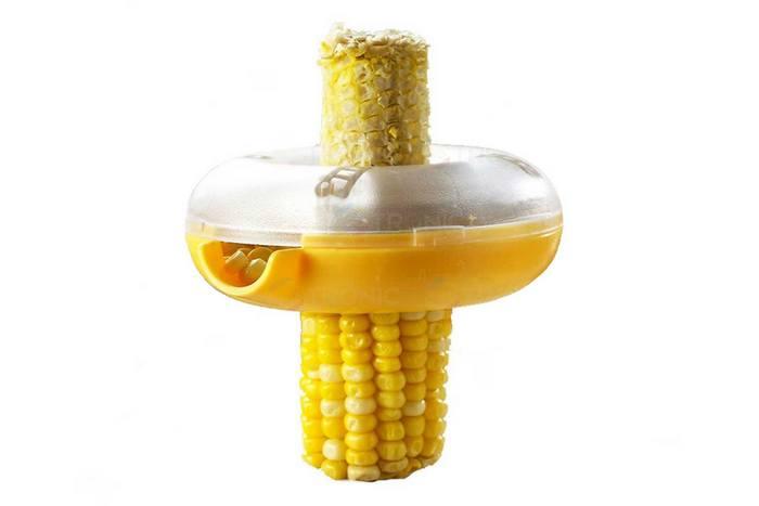 Почистить кукурузу в считанные минуты.