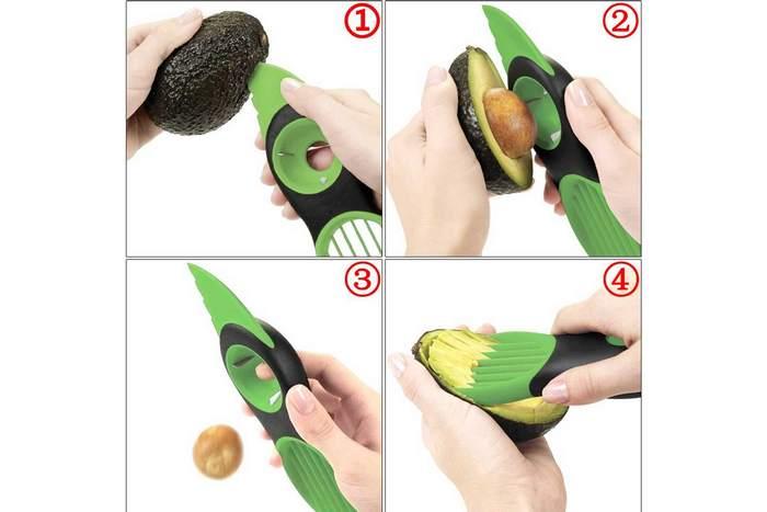 Почистить авокадо? Нет проблем!