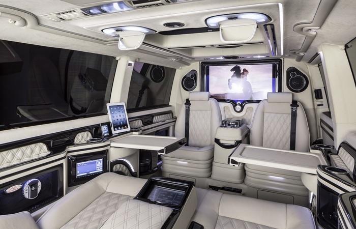 KLASSEN работает с фургонами, внедорожниками, лимузинами.