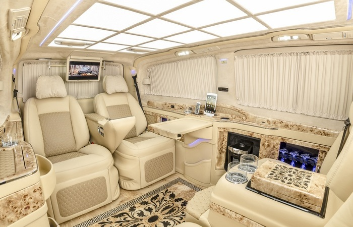 VIP Luxus Exclusiv Business Van.