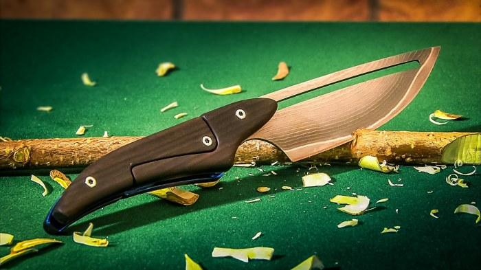 Такие разные ножи.