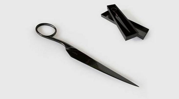 Нож-ножницы.
