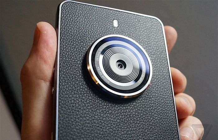 Новый смартфон Kodak Ektra.