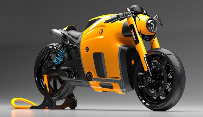 Концепт первого мотоцикла Koenigsegg.
