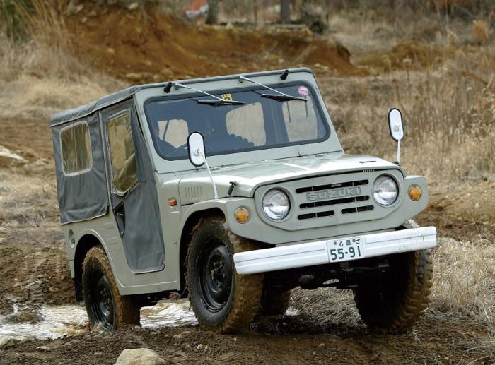 Suzuki Jimny настоящая легенда сегмента.