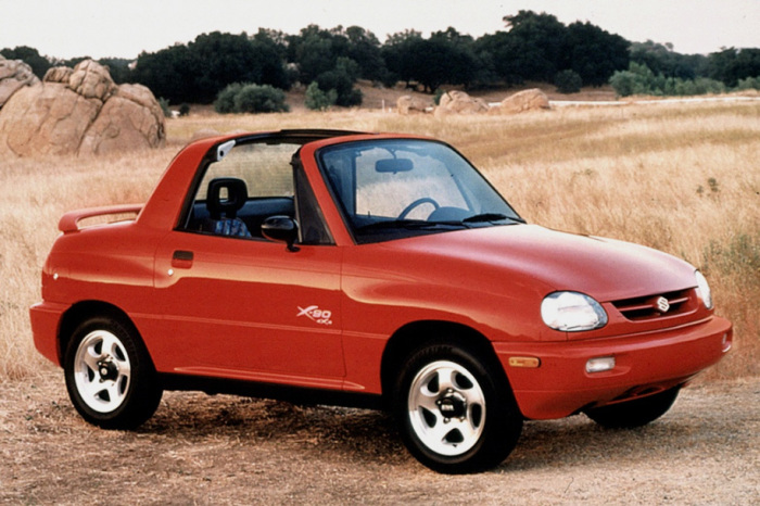Большим спросом Suzuki X-90 не пользовался.