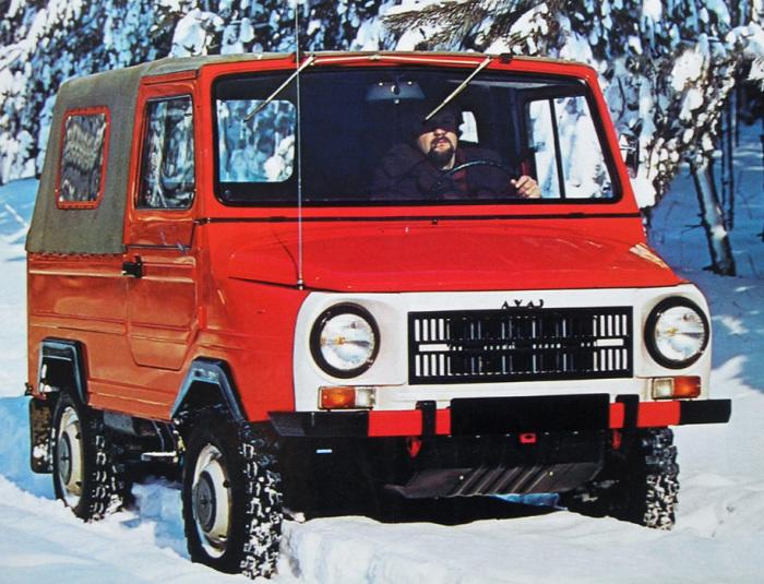 Разве нужно еще что-то говорить о ЛуАЗ-969М?