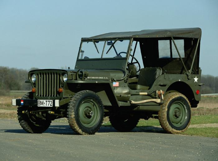 Дедуля Willys MB свой бензин ел не просто так.
