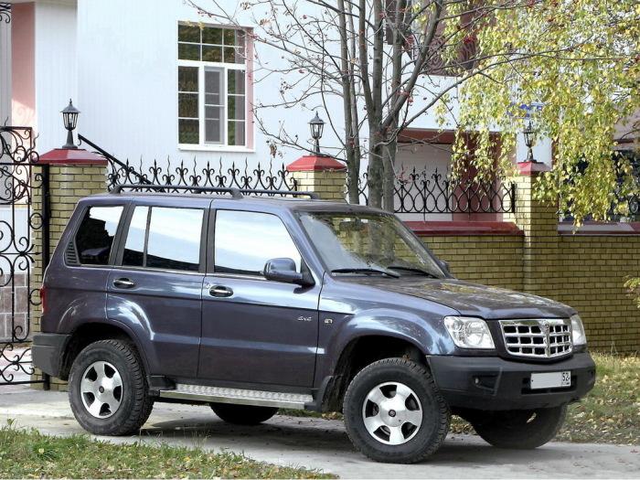 ГАЗ-3106 мог стать основным внедорожником России.