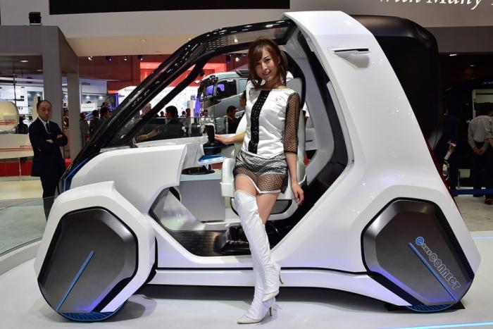 Toyota Сoms и другие концепты, представленные на Токийском автосалоне.