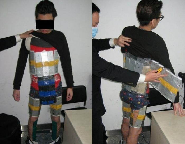 Изобретательный парень из Китая.
