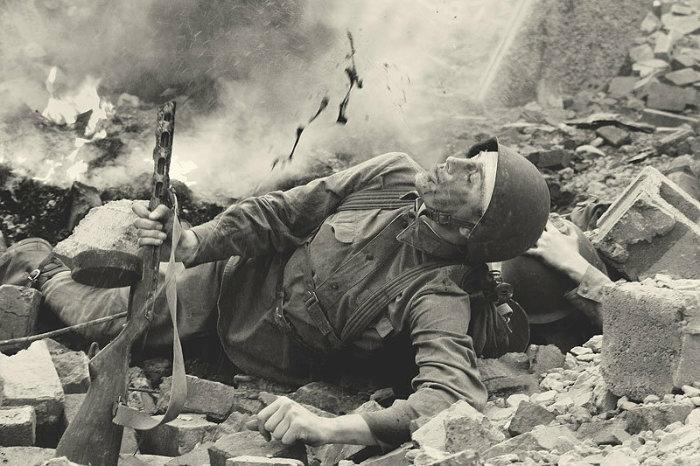 Чаще всего контузия случается после поражения взрывом. |Фото: yandex.com.