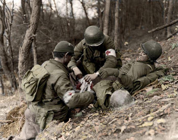 Контузия - спутница войны. |Фото: forum.na-svyazi.ru.