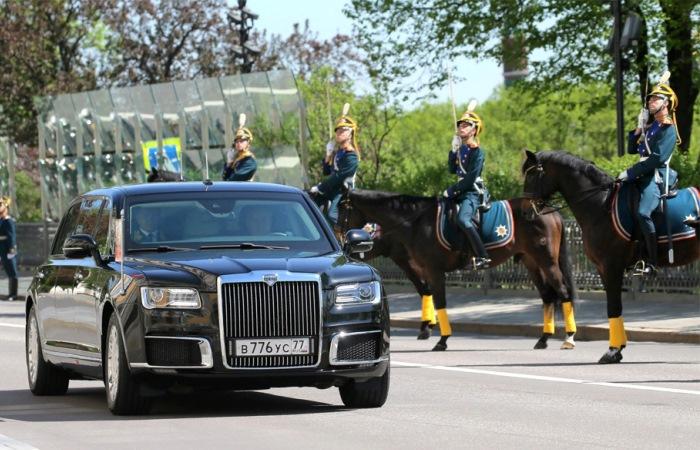 Новый лимузин Путина.