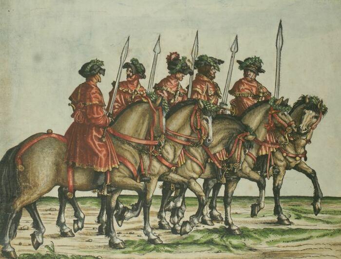 Охотники со Свиными мечами. ¦Фото: wiki.com.