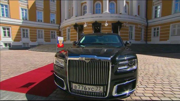 Новый кремлевский кортеж.