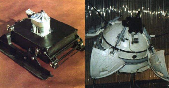 Автоматические межпланетные станции «Марс-2» и «Марс-3».