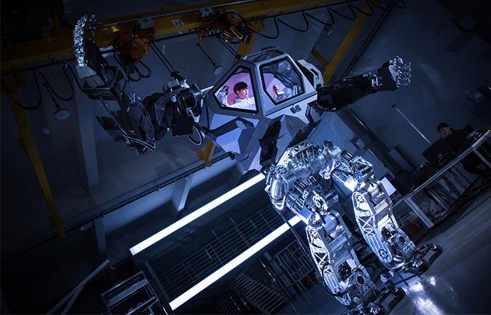 Hankook Mirae Method-2 Robot Suit в помощь человечеству.