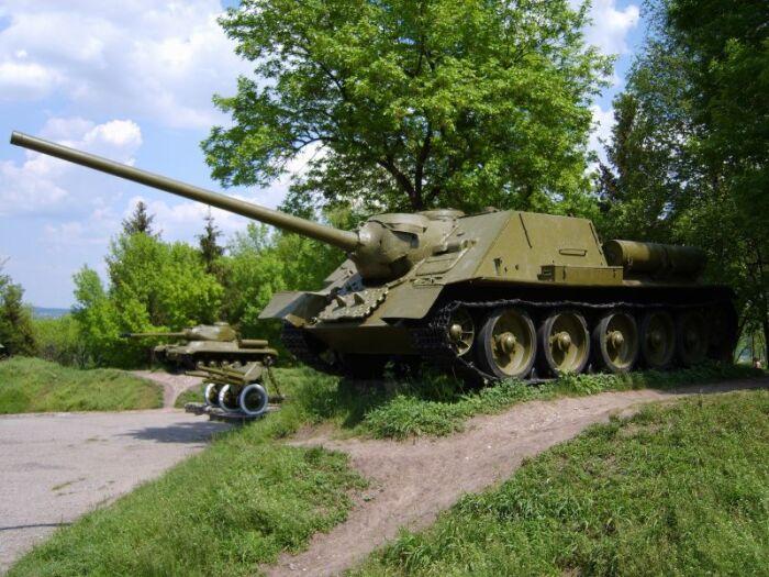 Била Тигры на раз и два. ¦Фото: warfront.ucoz.ru.