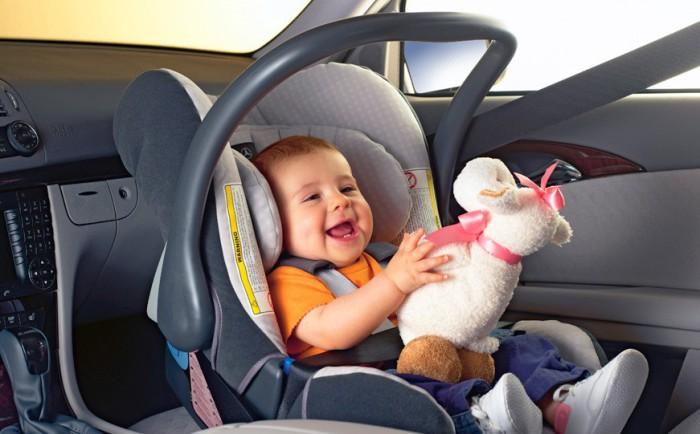 Детское автокресло как залог безопасности.