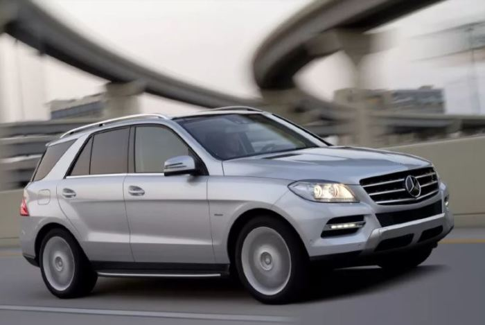 Не Геликом единым, а Mercedes-Benz ML.