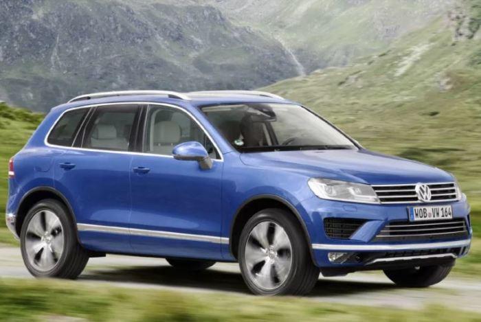Почему бы не взять вот такой Volkswagen Touareg?
