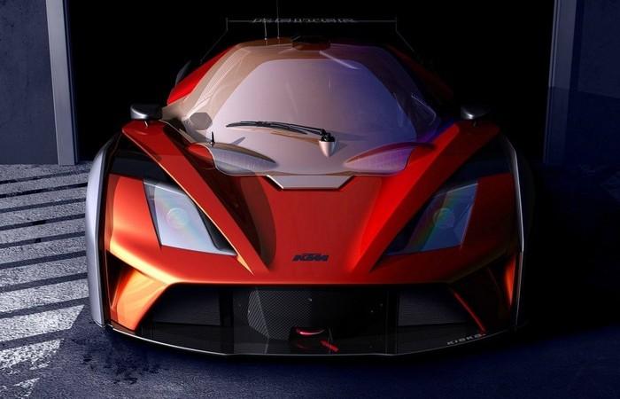 Новый суперкар для гонок GT4.