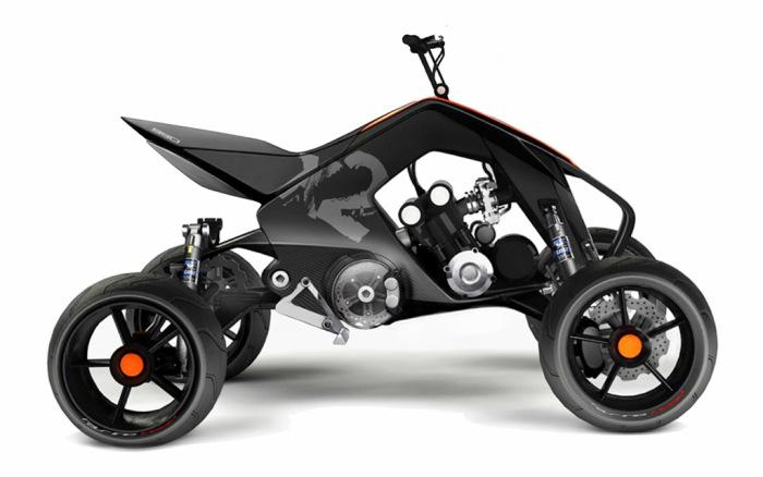 Гибрида KTM X2 HYBRID от Ансси Мустонена.