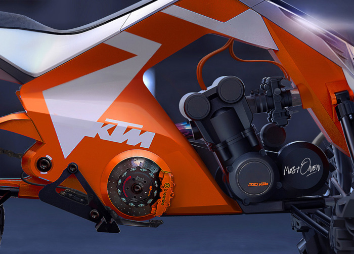 Универсальная рама KTM X2 Hybrid.