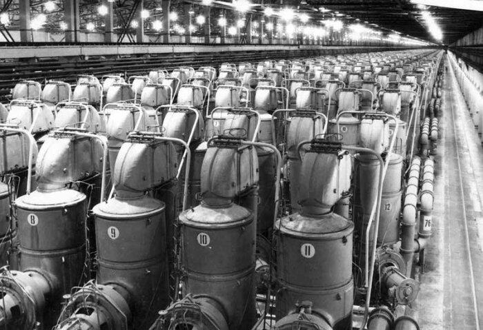 Производство урана - сложный процесс. |Фото: m.fishki.net.