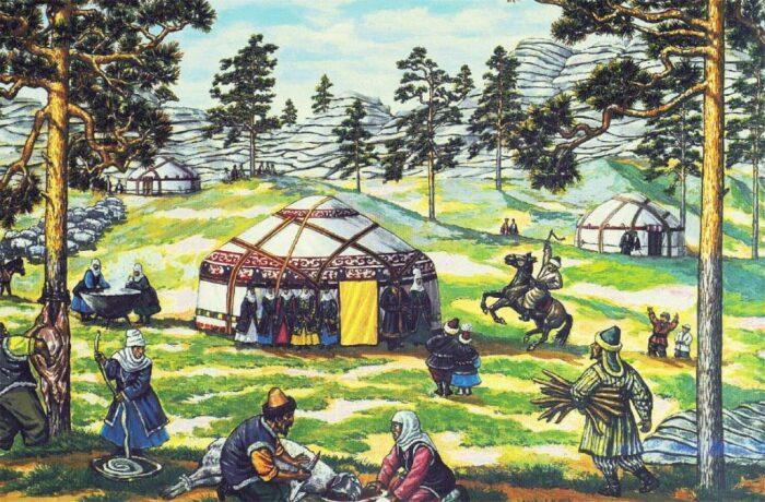Основу гуннов составили тюркские, монгольские и тунгусские племена. |Фото: islamnews.ru.