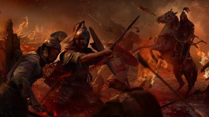 Великое переселение вылилось в многочисленные конфликты между  варварами, кочевниками, персами и римлянами. ¦Арт: студия Creative Assembly.