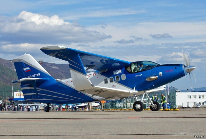 Едва ли не единственный самолет с таким крылом пошедший в серию. ¦ Фото: m.fishki.net.