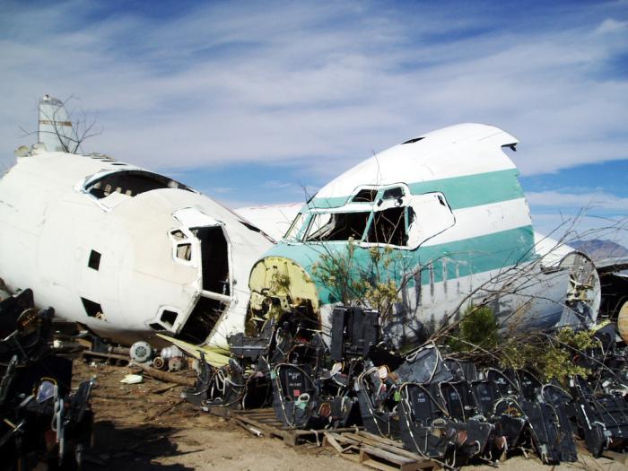 Утилизировать самолет полностью - сложно. |Фото: doseng.org.