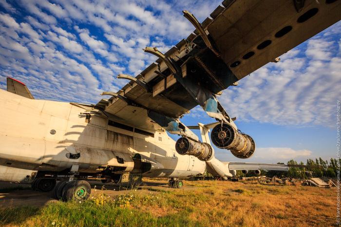 Большинство самолетов отправят на кладбище. ¦Фото: photoforum.ru.